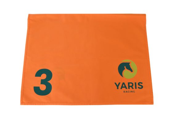 Number Cloth Orange